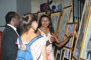 Vernissage in Lomé